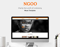 NGOO - Charity, Non-profit, & Fundraising Muse Theme