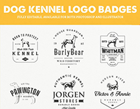 Dog Kennel Logo Badges Vol.4