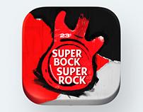 Super Bock Super Rock - App Design