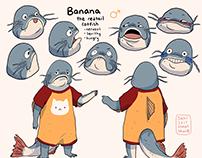 catfish character design