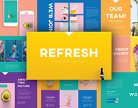 Refresh - Presentation Template