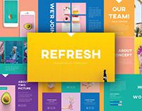 Refresh - Presentation Template