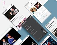 Portfolio - adaptive site