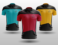Star Trek: The Next Generation - Soccer Kits