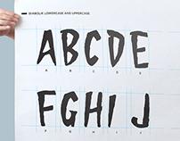 Diabolik® Regular typeface