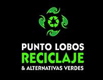 Diseño de logotipo Punto Lobos Reciclaje