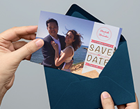GRAPHICS | Save The Date A5 Card