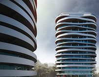 Нotel complex with apartments