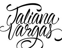 Lettering Taliana Vargas Revista Cromos