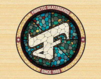 Fibretec // Skateboard Graphics