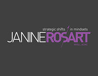 Janine Rosart ~ Branding, logo and website design