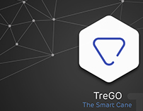 TreGO - Smart Cane for the Elderly (with app).