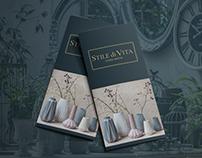 Буклет для салона Stile di Vita