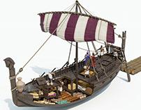 KE History - Phoenician Boat