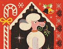 Festive Poodle
