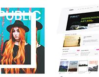 PUBLIC Web Redesign