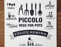 Cartoline Piccolo Vegs for Pots