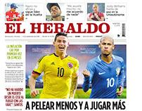 Páginas periódico El Heraldo