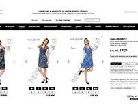 Webdesign / French Clothing Wholesaler
