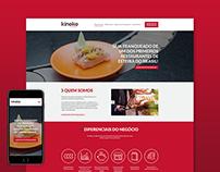 Kinoko Express Restaurant Responsive Landing Page