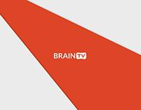 BRAIN TV branding