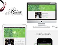 Alpina Wine UI/UX Concept