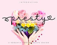 Presty | FREE FONT
