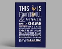 Football Is Not A Game