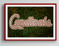 St. Louis Cardnials Poster