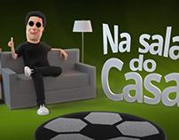"""Vinheta """"Na sala do Casa"""""""