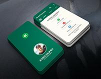 Whatsapp Business Card