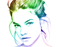 Photo To Color Pencil Sketch using Photoshop