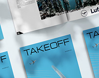 Minimalist Contemporary Design of Aviation Magazine