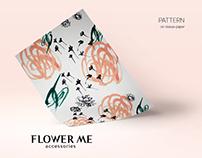 Flower Me. Branding.