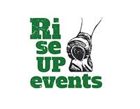 RiseUp events Logo