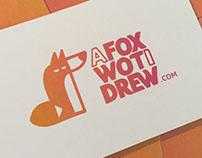 A Fox Wot I Drew