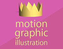motion graphic illustration