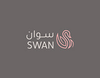 Swan Logo and Brand identity