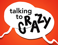Talking to Crazy :: Book Jacket Design