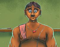 Jaganna Halwai (Sweet Vendor) - Digital Art