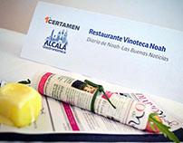 Diseño y maquetación para restaurante