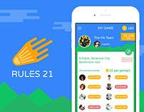 RULES 21 - Mobile Application