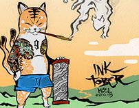 TOP 18: INKTOBER - COLORINK '15 (parte 1)