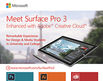 Surface Pro 3 with Adobe Suite Trade Show Display