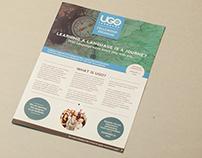 Brochure Design for UGO Language