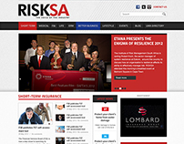 RISKSA Magazine Web Design