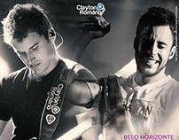 Social Mídia   Clayton e Romário