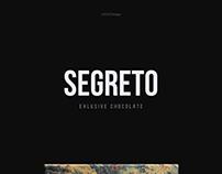 SEGRETO - landing page