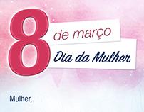 Comunicado Dia da Mulher - Purificadores Europa