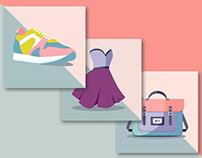Vector Fashion Items